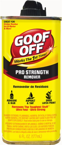 Goof Off Professional Strength Remover Perspective: front
