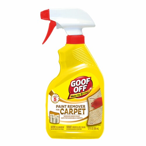 Goof Off Carpet Paint Remover Perspective: front