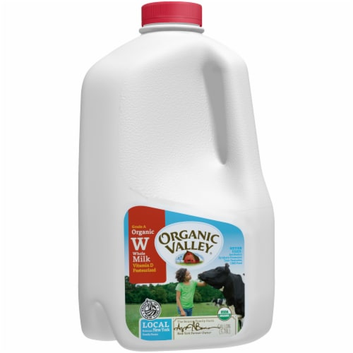 Organic Valley Whole Milk Perspective: front