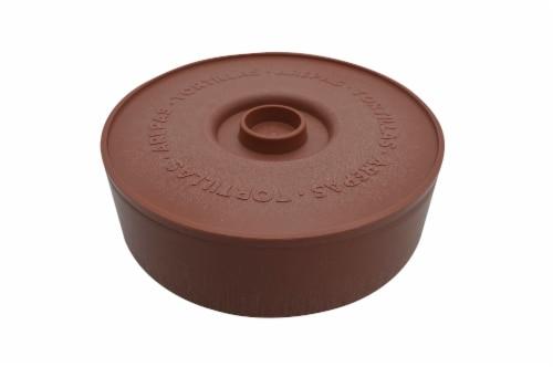 IMUSA Terracotta Tortilla Warmer Perspective: front