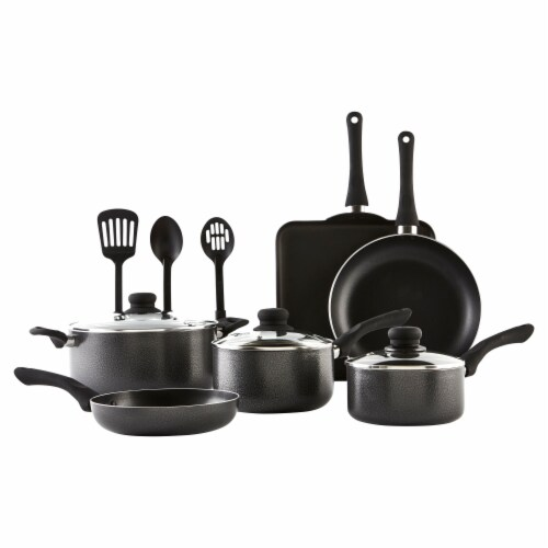 IMUSA Nonstick Cookware Set - Charcoal Perspective: front