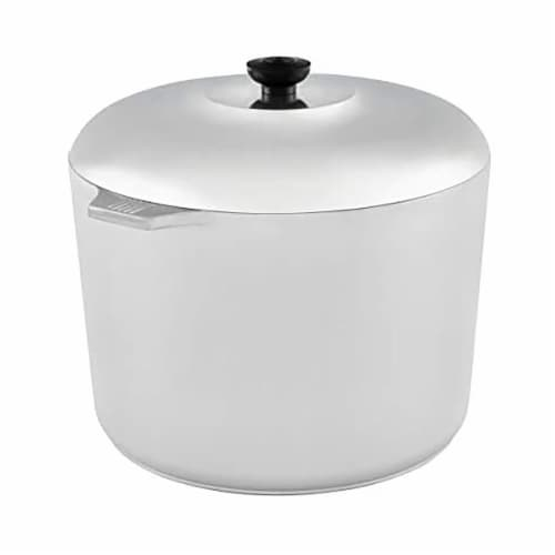 IMUSA Aluminum Cajun Stockpot with Lid Perspective: front