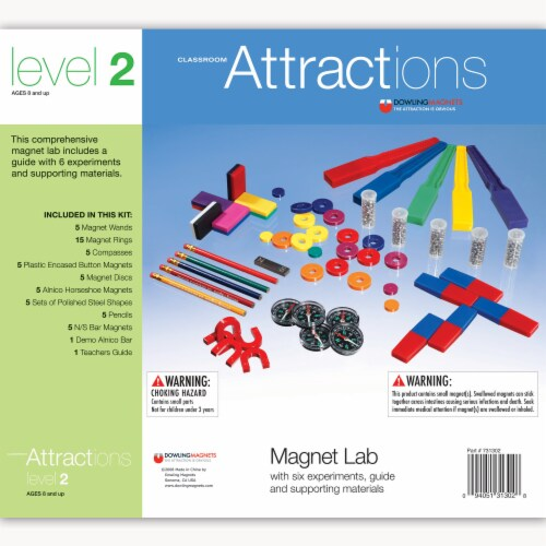 Dowling Magnets Level 2 Classroom Attractions Kit Perspective: front