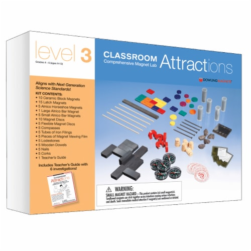 Dowling Magnets Level 3 Classroom Attractions Kit Perspective: front