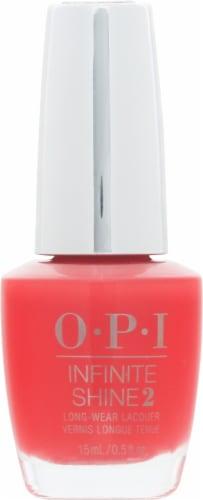 OPI Infinite Shine 2 Cajun Shrimp Long Wear Nail Lacquer Perspective: front