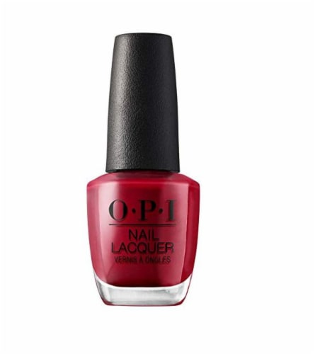 OPI Red Nail Lacquer Perspective: front