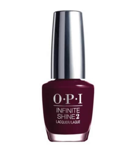 OPI Infinite Shine Raisin' the Bar Nail Lacquer Perspective: front