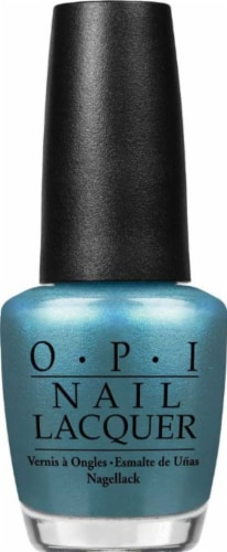 OPI Teal The Cows Come Home Nail Lacquer Perspective: front