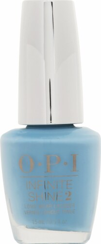 OPI Infinite Shine Infinity & Blue Yonder Nail Lacquer Perspective: front