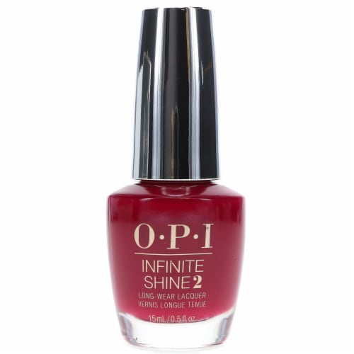 OPI Infinite Shine 2 Malaga Wine Long Wear Nail Lacquer Perspective: front