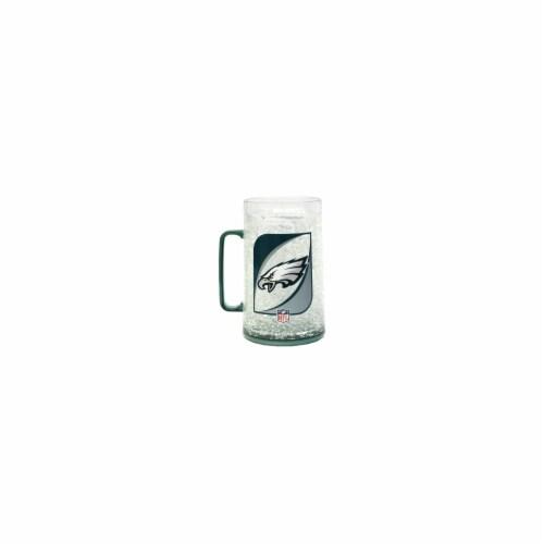 Philadelphia Eagles Monster Crystal Freezer Mug Perspective: front