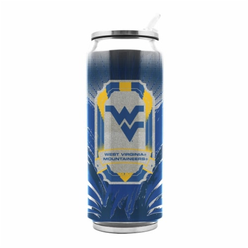 West Virginia Univ Ss Thermocan - Large (16.9 Oz) Perspective: front