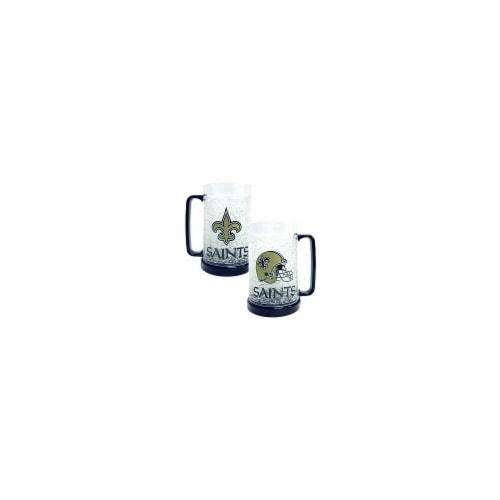 New Orleans Saints Crystal Freezer Mug Perspective: front