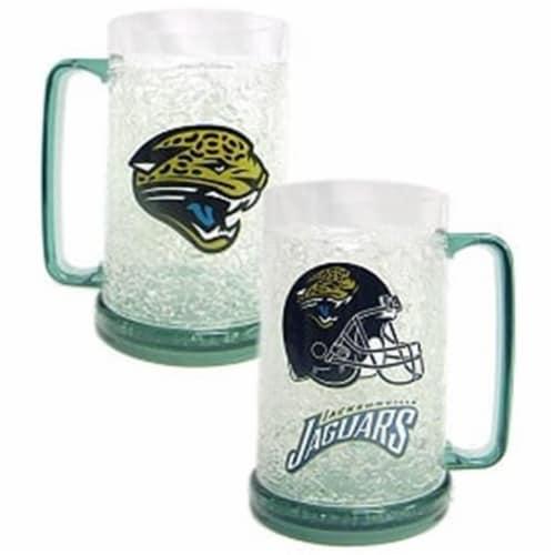 Jacksonville Jaguars Crystal Freezer Mug Perspective: front
