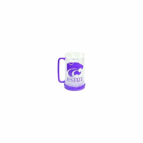 Kansas State Wildcats Crystal Freezer Mug Perspective: front