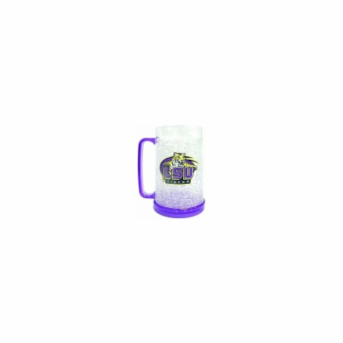 LSU Tigers Crystal Freezer Mug Perspective: front