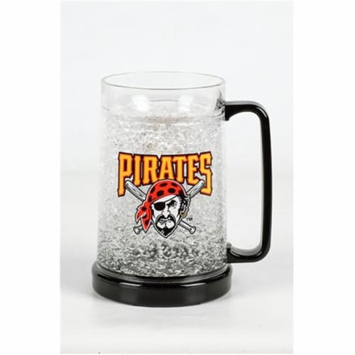DUCK HOUSE CMBBPIT 16oz Crystal Freezer Mug - Pittsburgh Pirates Perspective: front