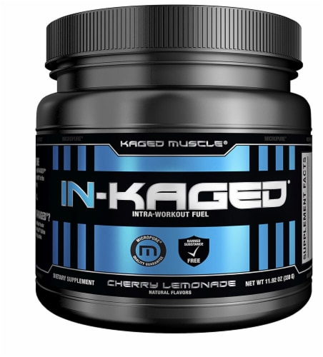 Kaged Muscle  In-Kaged®   Cherry Lemonade Perspective: front