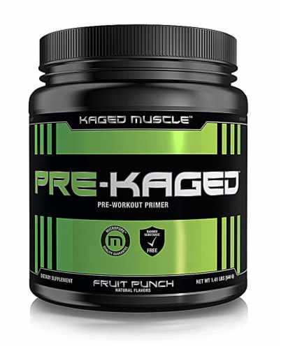 Kaged Muscle  Pre-Kaged®   Fruit Punch Perspective: front