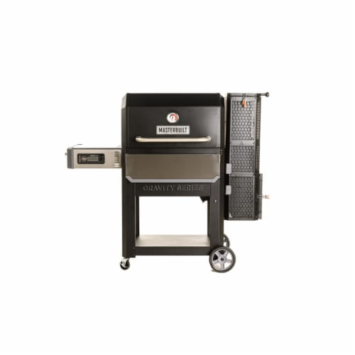 Masterbuilt Gravity Series 1050 Digital Charcoal 30 in. Grill and Smoker Black Perspective: front