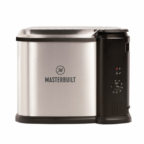 Masterbuilt Butterball XL 3-in-1 Electric Deep Fryer Boiler Steamer Cooker, 10L Perspective: front