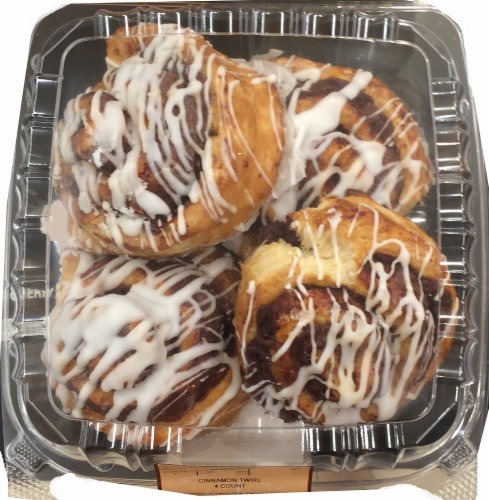 Bakery Fresh Goodness Iced Cinnamon Twirls Perspective: front