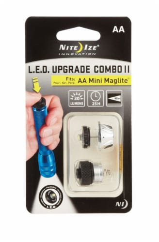 Nite Ize® LED Upgrade Combo II Flashlight Bulb Perspective: front