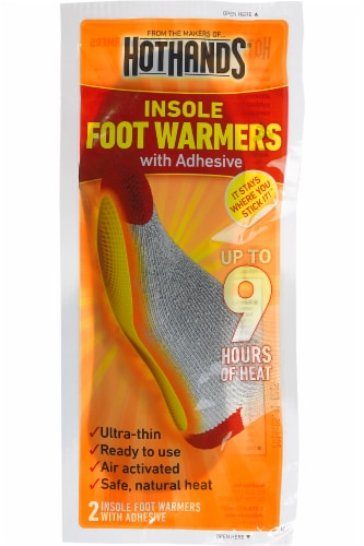 HotHands HFINSPDQ Insole Foot Warmers with Adhesive for sale online