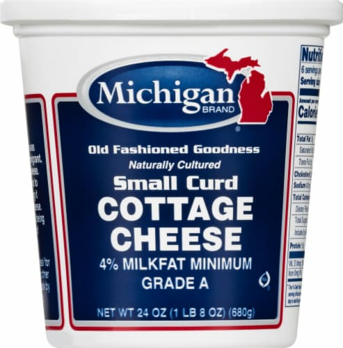 Michigan Small Curd Cottage Cheese Perspective: front