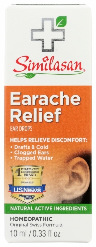 Similasan Earache Relief Ear Drops Perspective: front