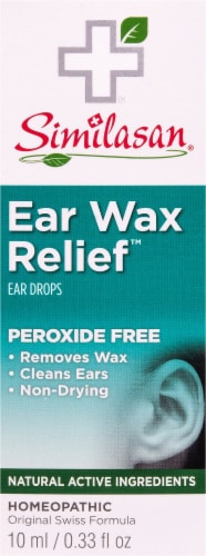 Similasan Ear Wax Relief Ear Drops Perspective: front