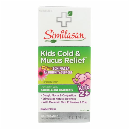 Similasan Kids Cold And Mucus Relief Perspective: front