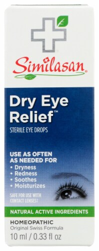 Similasan Dry Eye Relief Drops Perspective: front