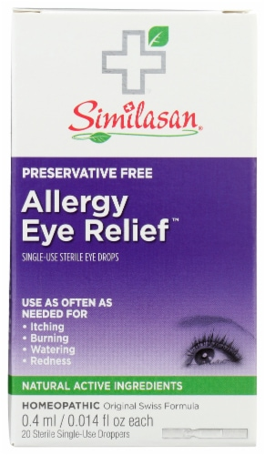 Similasan Allergy Eye Relief Perspective: front
