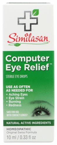 Similasan Computer Eye Relief Drops Perspective: front