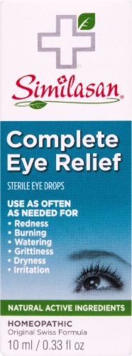 Similasan Complete Eye Relief Perspective: front