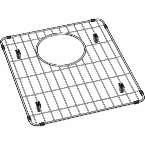 Elkay LKOBG1516SS 12 x 13.75 x 1.25 in. Stainless Steel Bottom Grid Perspective: front