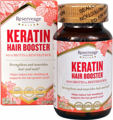 Reserveage  Nutrition Keratin Booster™ Perspective: front