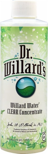 Willard Water  Clear Concentrate Perspective: front