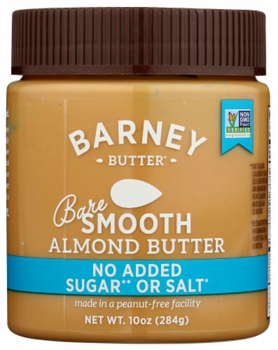 Barney Butter Bare Smooth Almond Butter Perspective: front