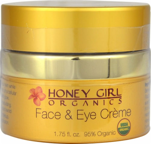 Honey Girl Organics  Face & Eye Crème Perspective: front