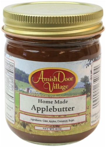 Amish Door Village Homemade Applebutter Traditional Spread Perspective: front