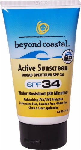 Beyond Coastal  Active Daily Sunscreen SPF 34 Perspective: front