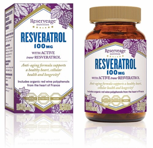 Reserveage  Nutrition Resveratrol Perspective: front