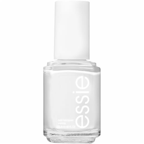 Essie Blanc Nail Polish Perspective: front