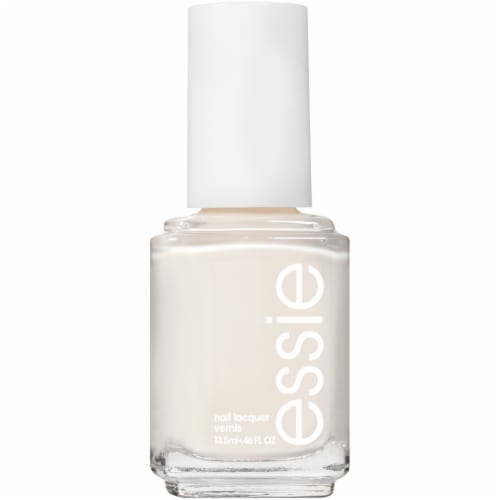 Essie Marshmallow Nail Polish Perspective: front