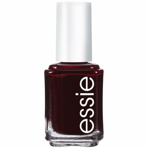 Essie Wicked Deep Red Nail Polish Perspective: front