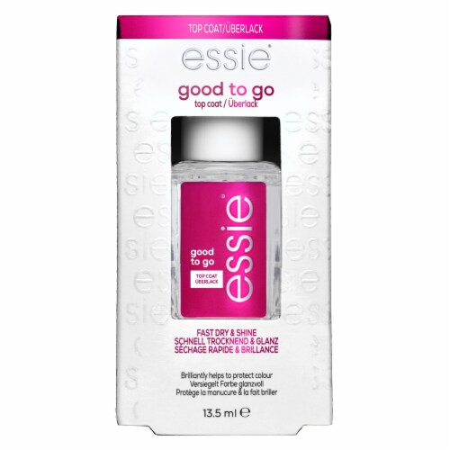 Essie Good to Go! Rapid Dry & Shine Top Coat Nail Polish Perspective: front
