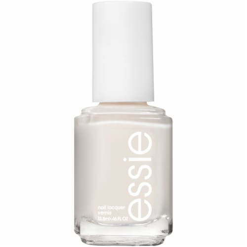 Essie Tuck It In My Tux Nail Polish Perspective: front