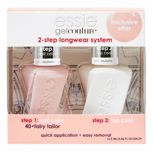 Essie Gel Couture 40 Nail Polish Kit - Fairy Tailor Perspective: front